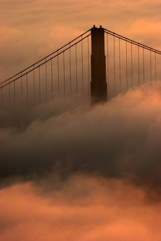 """ North Tower in the Fog by Rob Kroenert San Francisco, California, USA """