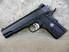 Ruger's newest 1911 The Night watchman. The compact version was just also released this week at shot show. Should be in stores soon.