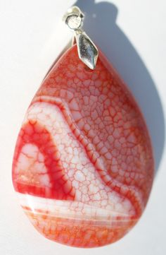 Metaphysical Gifts, Cards, Wrap and Crystals | Life Is A Gift Shop - Dragon Veins Agate Large Pear-Shaped Pendant, $15.00 (http://lifeisagiftshop.com/dragon-veins-agate-large-pear-shaped-pendant/)