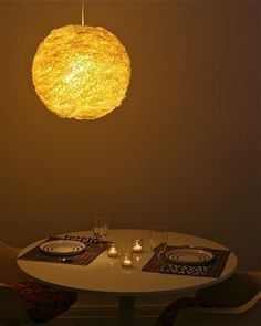 Coffee Filters + Rice Lamps= Beauty - Lightpublic | The latest in Lighting and Interior Design