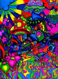 PSYCHEDELIC artistic acid - blinkpunk10182 http://blinkpunk10182.deviantart.com/art/Artistic-Acid-104932727