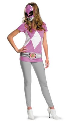 Pink Power Ranger Costume - Family Friendly Costumes