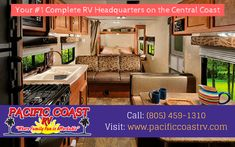 Welcome to Pacific Coast RV here you will enjoy a low haggle and informative experience.We believe in putting you in the most affordable RV for your budget. For more info call: (805) 459-1310