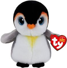 Ty Pongo Penguin Plush, Regular: The world famous Beanie Babies are forever filled with fun! Ultra iconic, ever loved. Ty Beanie Babies are the best! Ty Beanie Boos, Ty Stuffed Animals, Ty Animals, Stuffed Toys, Ty Plush, Original Beanie Babies, Ty Toys, Pikachu, Doll Toys