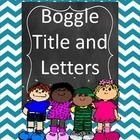 This is a set of Boggle letters and large title letters.  They have a chevron background.  There are two sets of letters so you don't have to worry...