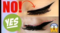 eyeliner for hooded eyes Eyeliner Make-up, Eyeliner Hacks, Eyeliner For Hooded Eyes, Perfect Eyeliner, Eyeliner Styles, Hooded Eye Makeup, How To Apply Eyeliner, Hooded Lids, Eye Shadow Hooded Eyes