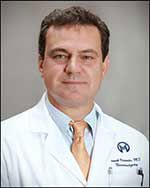 Dr. Frank Vrionis is a leading spine surgeon recognized for his expertise in benign and malignant tumors of the brain and spinal cord.  He is chief of neurosurgery at Moffitt Cancer, as well as director of Moffitt's Complex Spine and Skull Base Surgery Program and the Spine Research Laboratory. He is the founder and director of Moffitt's Spine Oncology Fellowship Program for physician-scientists pursuing advanced education in this medical specialty.