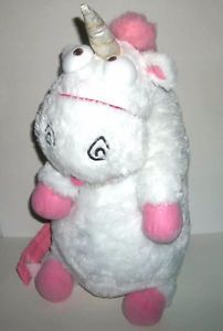 It's so fluffy! Agnes fluffy unicorn 26' backpack only sold at Universal Studios park.