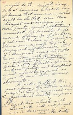 William M Rives Letter To Millie Rives May    Ohio