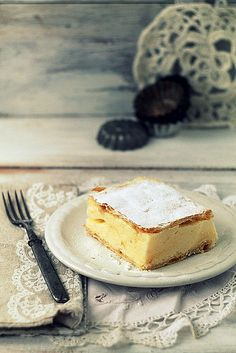 Kremes - vanilla cream dessert