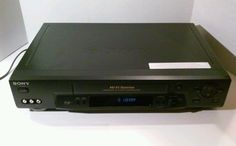 Sony SLV-N71 VCR Auto Head Hi-Fi Stereo VHS Player No Remote #Sony
