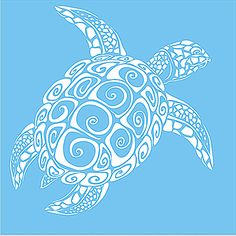 This great Sea Turtle comes in many sizes to fit your special project. Great on signs, pillows and walls!! See more at www.superiorstencils.com