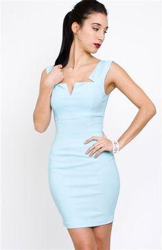 Little Blue Dress - Top Notch Dress