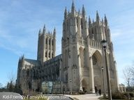 Things to do in Washington Dc with kids:  The National Cathedral in Washington DC is a great kid friendly vacation idea...Join me for other Washington DC ideas....