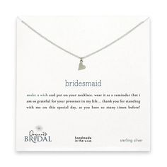cute gift idea - I might use the quote for a different necklace I get for my girls.