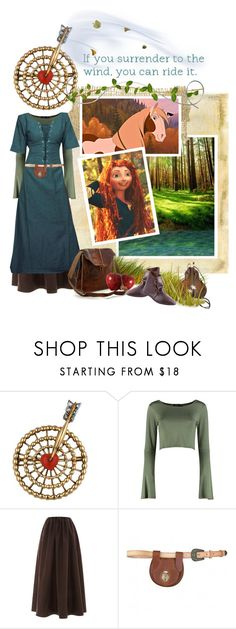 """riding the wind"" by savagedamsel ❤ liked on Polyvore featuring Cartier, Boohoo, Isa Arfen, rp, merida and EDS"