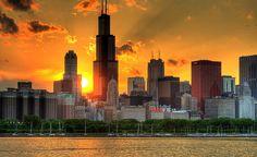 Chicago's incredible skyline
