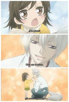 And of course she said yes,,, love, love, love this anime