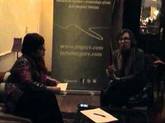 Conversación durante las 8as Jornadas Nacionales de AVILES, con Clotilde Nogareda Responsable área de Ergonomia y Psicosociología en el INSHT