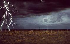 Walter de Maria - Lightening Field / New Mexico 1977