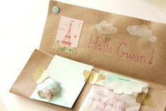 A really cool way to mail a few little things.