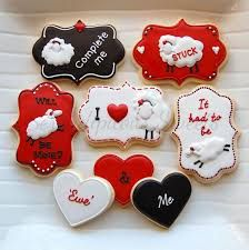 Image result for sheep decorated cookies