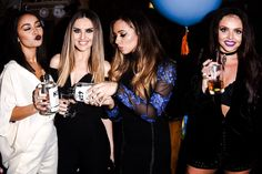 """""""Little Mix at their 'Get Weird' album launch party in London, 11th November."""""""