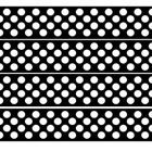 Bulletin Board borders with a black background and white polka dots. Make a great display as it or when printed on coloured card or paper. ...