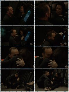 """Usually it's the Fitzsimmons moments that make us go """"Awww!"""" but this Phil and Melinda moment from is definitely a on the sweet scale. Series Movies, Tv Series, Melinda May, Ming Na Wen, Fitz And Simmons, Phil Coulson, Agent Carter, Avengers Memes, Agents Of Shield"""