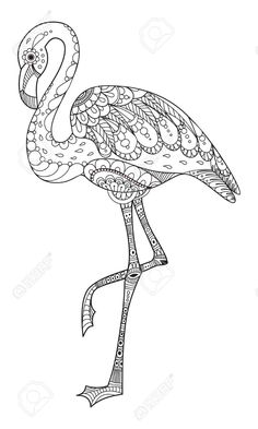 Flamingo coloring pages, flamingo colouring pages