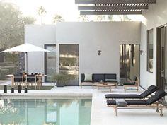 BoBedre Danske Norm Architects har designet en vakker utemøbelserie for den amerikanske produsenten Design Within Reach - som har som filosofi at god design også skal være innen prismessig rekkevidde. Det er Finn Collection