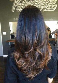 23. Scan Schatten Lange Frisur