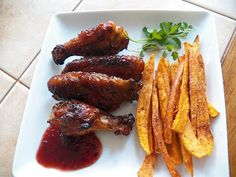 Sid's Sea Palm Cooking: Raspberry Chipotle Sweet Hot Wings