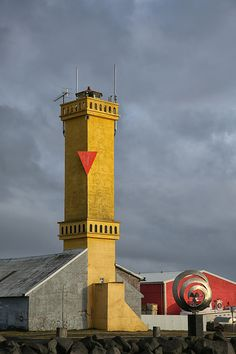 Sandgerði Lighthouse, Suðurnes, Iceland
