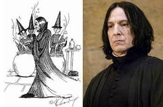 J.K. Rowling's Harry Potter Sketches Are Actually Really Good