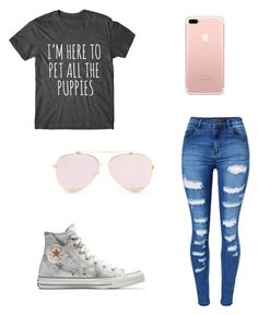 """""""Untitled #7"""" by havynj on Polyvore featuring WithChic and Converse"""
