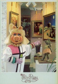 Titel: De kunstschatten van Miss Piggy. Miss Piggy Art