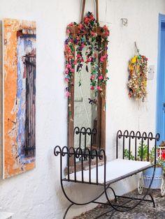 Ladder Decor, Home Decor, Decoration Home, Room Decor, Interior Design, Home Interiors, Interior Decorating