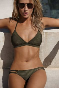 The seasons favorite bikini now in #green #love #hot #springbreak