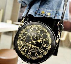 Alice in wonder Clock Watch Pattern Bag Cute Kawaii Lolita Handbags Purses Bag | Clothing, Shoes & Accessories, Women's Handbags & Bags, Handbags & Purses | eBay!