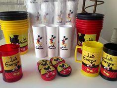O mais pedido em qualquer ano. Mickey Mouse. Canecas, baldes, latas e Copo long drink!