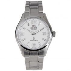 ER2B001W FER2B001W Orient Automatic White Dial Stainless Steel Band Male Watch