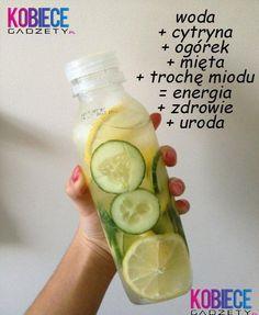 ORZEŹWIAJĄCY napój!!! Energia Zdrowie Uroda!
