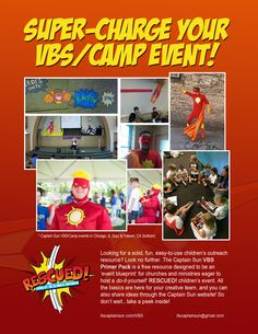 VBS Primer Pack BACK COVER Chicago Events, Vacation Bible School, Superhero, Children, Cover, Fun, Boys, Kids, Superheroes