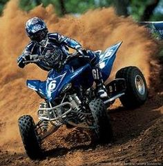 "See our web site for even more info on ""ATV Racing"". It is a great place to find out more. Hummer, Quad Yamaha, Yamaha Atv, E Quad, Quad Bike, Four Wheelers, Buggy, Ride Or Die, Riding Gear"