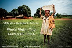 Meet your peers in Tanzania—see our live webcast next week – March 20th! http://studentsrebuild.org/blog/2014-02-11/join-us-tanzania-world-water-day