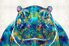 Choose your favorite hippo paintings from millions of available designs. All paintings ship within 48 hours and include a 30-day money-back guarantee.