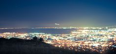 View of the San Francisco Bay. Taken on Sign Hill at South San Francisco, known to locals as South City.