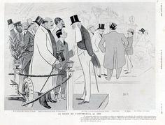 Sem - Caricatures - Au Salon de l'Automobile - 1906