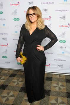 Pin for Later: 69 Celebs With Serious Specs Appeal Kimberley Walsh